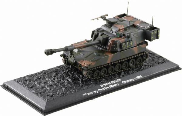 GJ24 1/72 Scale Tank M109A6 German Paladin S.P. Howitzer 2nd Infantry Division